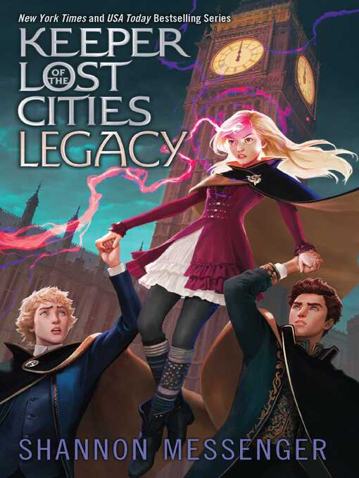 Legacy : Keeper of the Lost Cities Series, Book 8